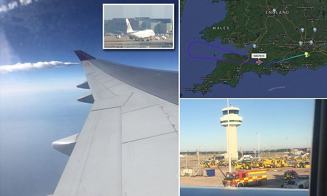 Norwegian Air 747 returns to Gatwick due to 'smoke in the cabin'