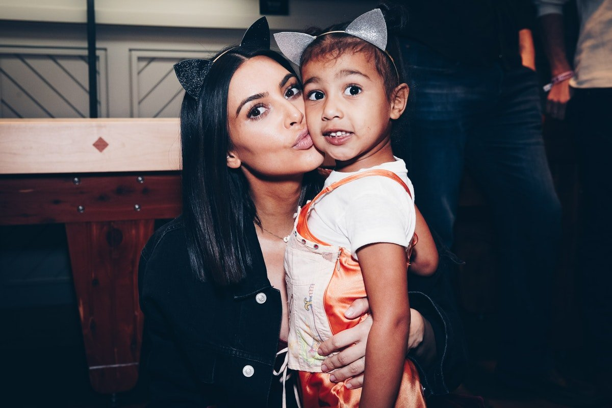 Kim K's Birthday Message For North West Highlights Just How Close These Two Really Are