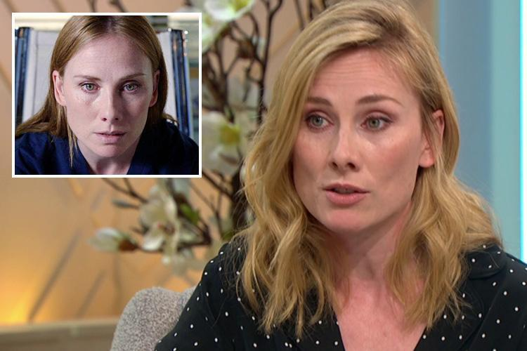 Holby City's Rosie Marcel reveals she had a nervous breakdown on set after thinking her family would be 'better off without' her