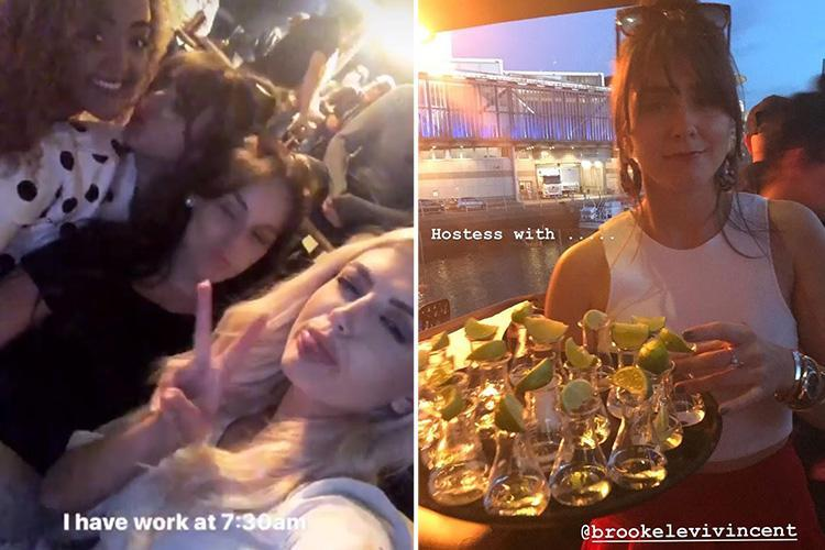 Inside Brooke Vincent's boozy birthday bash with Coronation Street co-stars Alan Halsall and Lucy Fallon