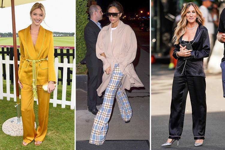 Victoria Beckham has a pyjama day in the most stylish way possible… and these are the other stars who are loving the PJ look
