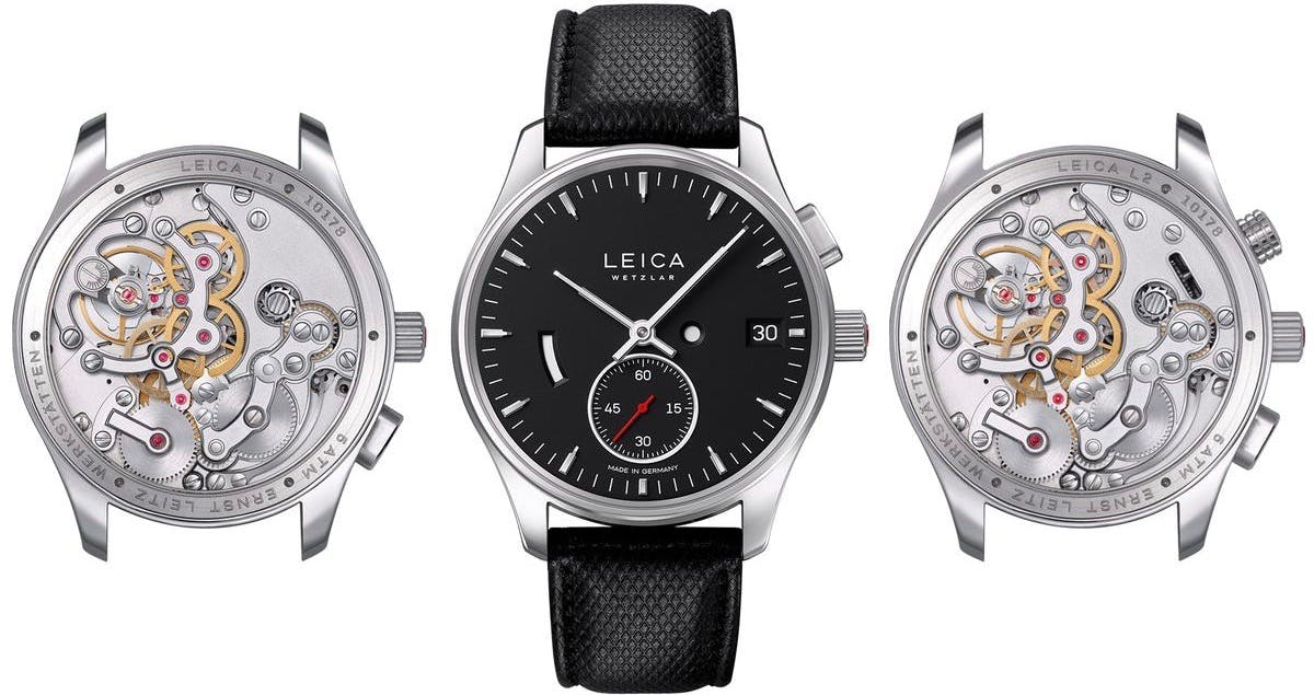 Legendary German Camera Maker Leica's Launches New Watch Collection