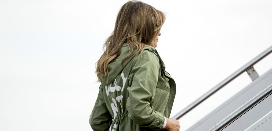Melania Trump Blasted For Wearing Jacket With Words 'I Really Don't Care' On Trip To Visit Immigrant Children