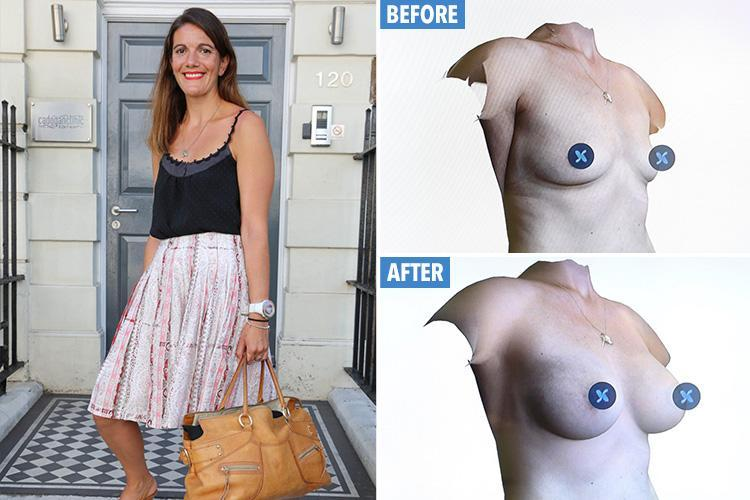 I tested the 4D 'try before you buy' boob job and went from a 36B to a 36E … now I'm sorely tempted to go for the real thing