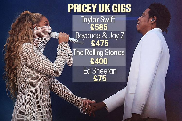 Beyonce and Jay-Z tickets given away for free in a car park as On The Run II tour flops