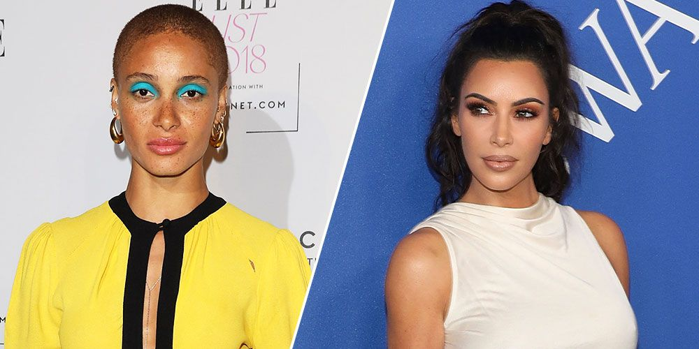 Model Adwoa Aboah Called Out Kim Kardashian  In The Insta Comments