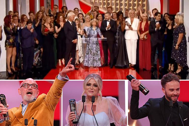 British Soap Awards 2018: Coronation Street sweeps the board with six as Lucy Fallon lands a double win