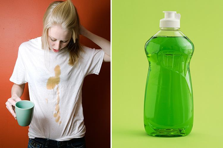 From vinegar to washing up liquid here's five hacks to get stubborn stains out of your whites