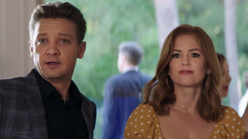 Jeremy Renner discovers comedy can be more dangerous than action