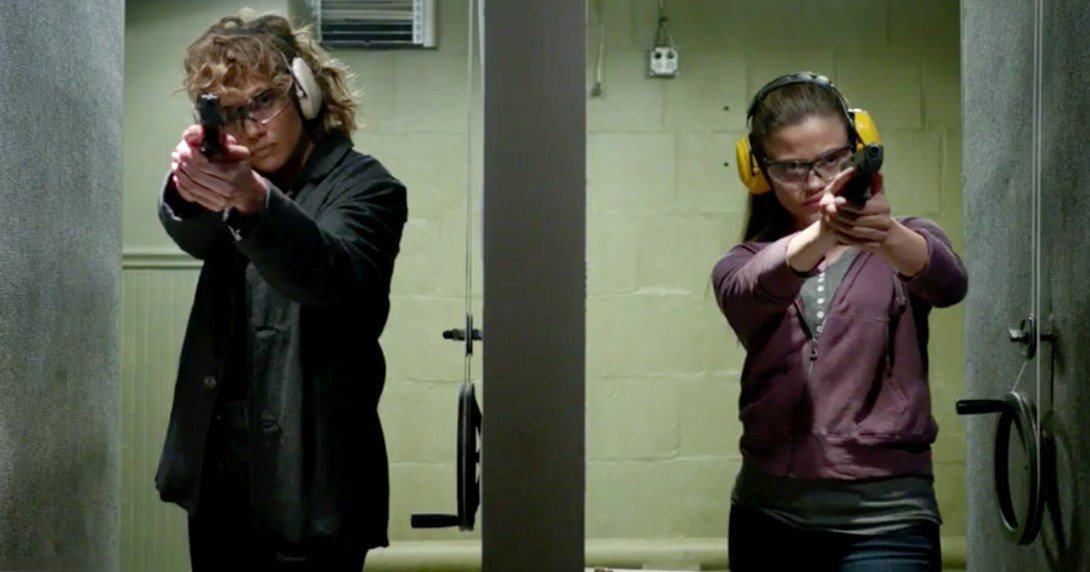 'Shades of Blue' Preview: Harlee Shows Cristina How to Shoot to Kill
