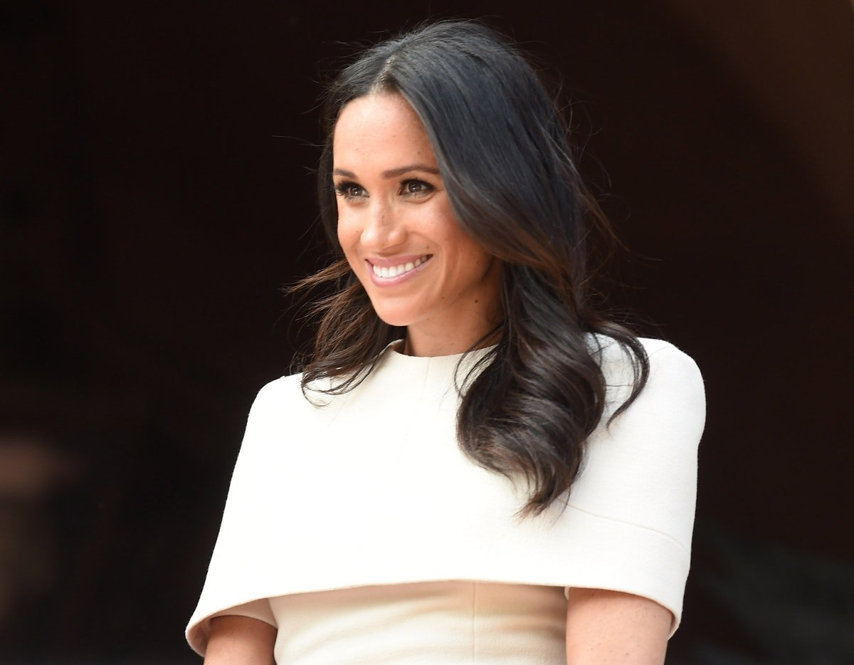 Meghan Markle Just Schooled All Of Us On How To Wear White To A Wedding