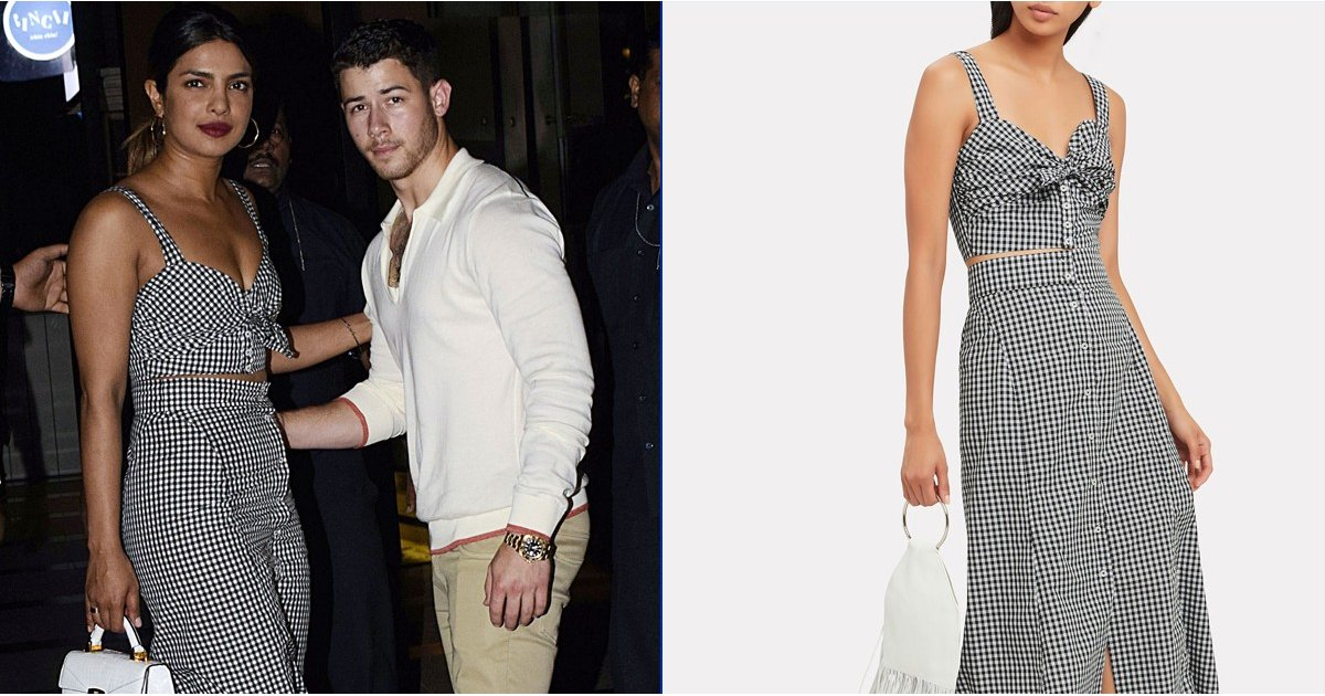 Priyanka Chopra May Be Falling in Love With Nick Jonas, but We're in Love With Her Gingham Set