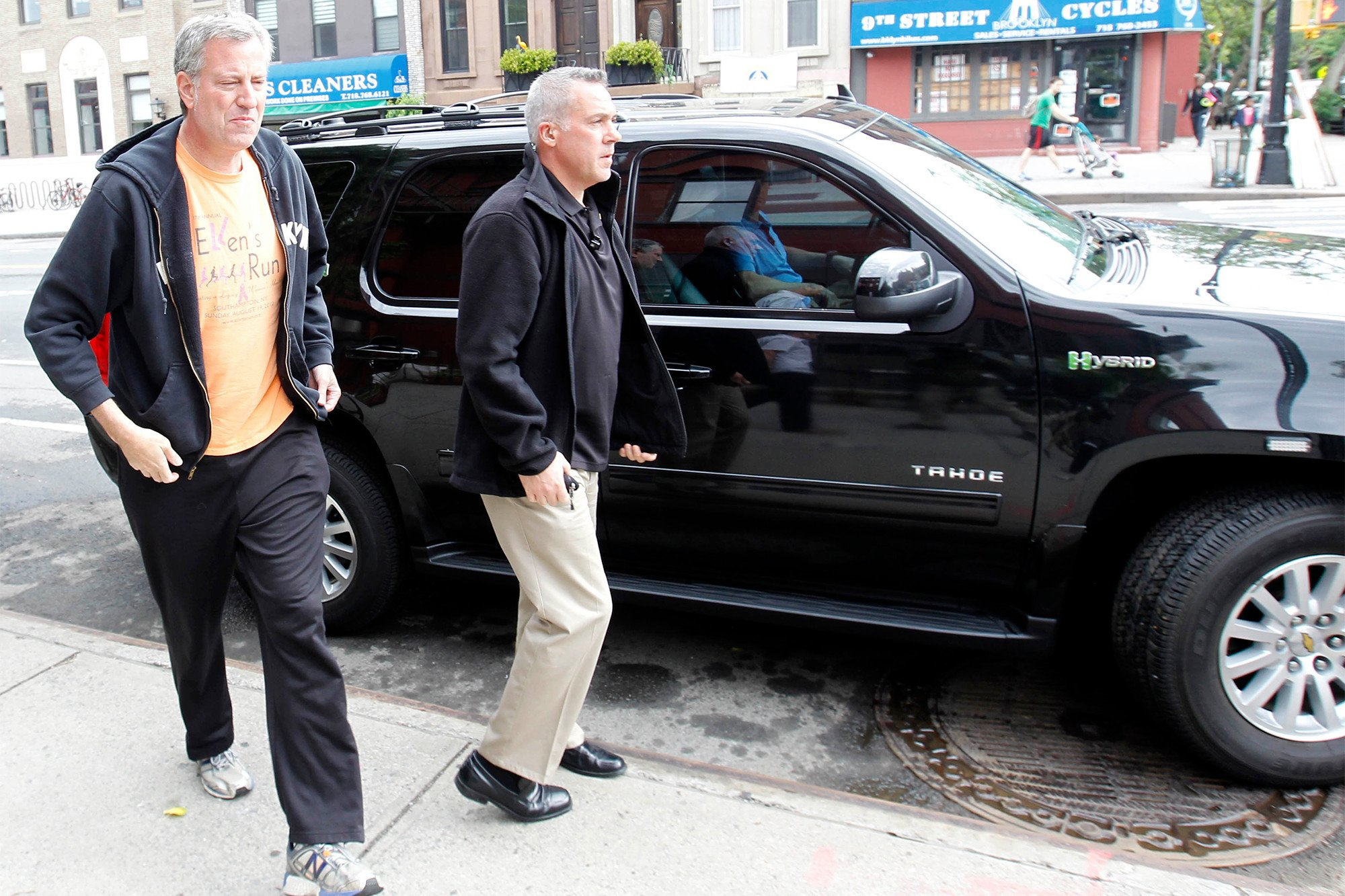 De Blasio can use city vehicle for the gym — but his driver can't