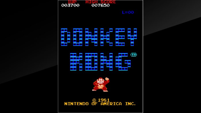 Arcade Classics 'Donkey Kong,' 'Sky Skipper' Coming To Switch