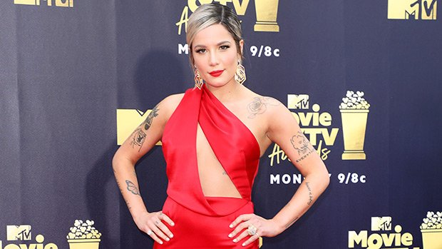 Halsey's Top 20 Sexiest Looks — Major Cleavage, Thigh-High Slits & More