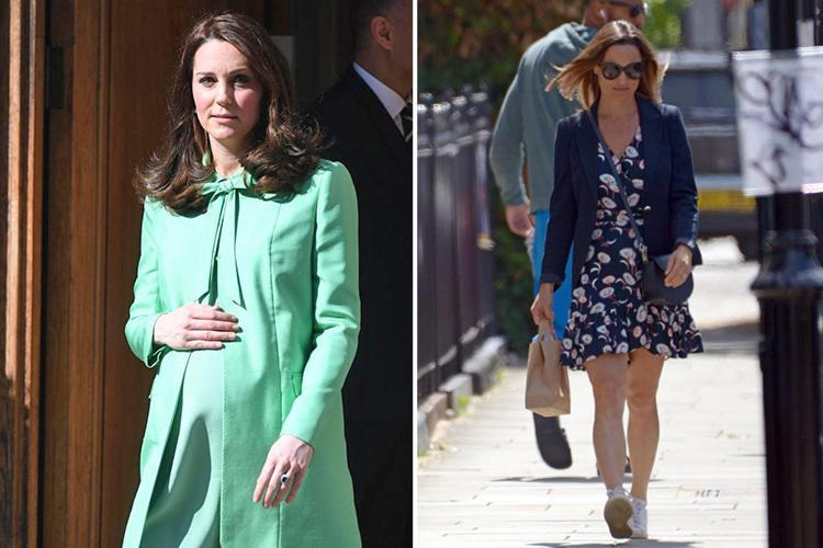 Pregnant Pippa Middleton escapes morning sickness in first trimester – unlike unlucky sister Kate