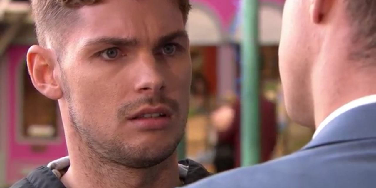 Hollyoaks' Ste Hay is accused of framing James Nightingale for murder