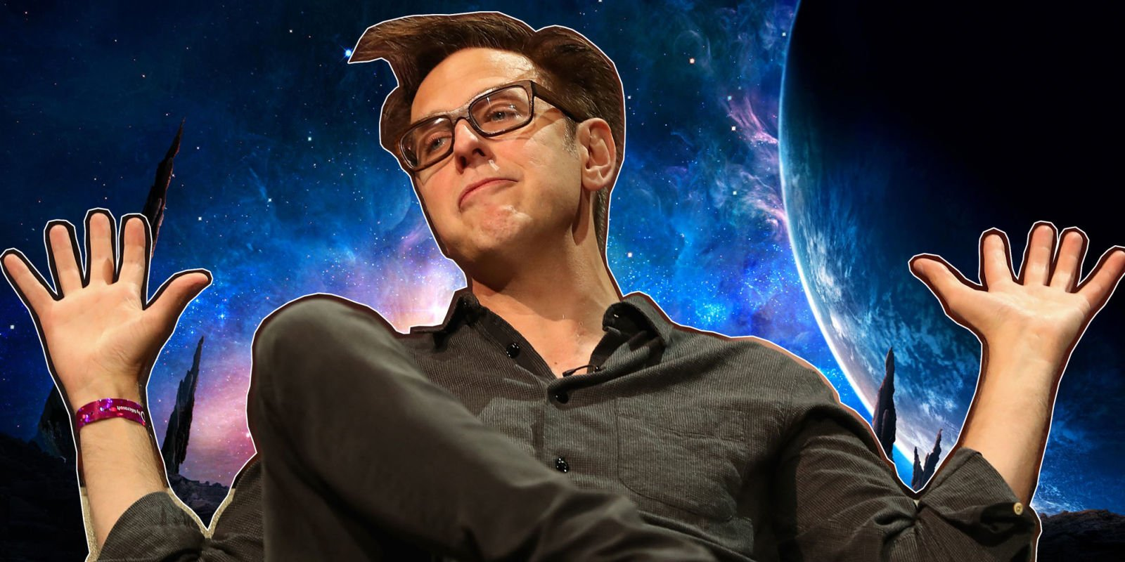 """Guardians of the Galaxy's James Gunn was """"given the opportunity"""" to direct a DC movie"""