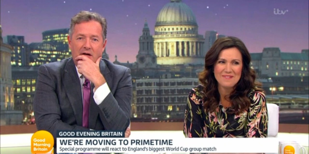 Piers Morgan and Susanna Reid to front new ITV show Good Evening Britain