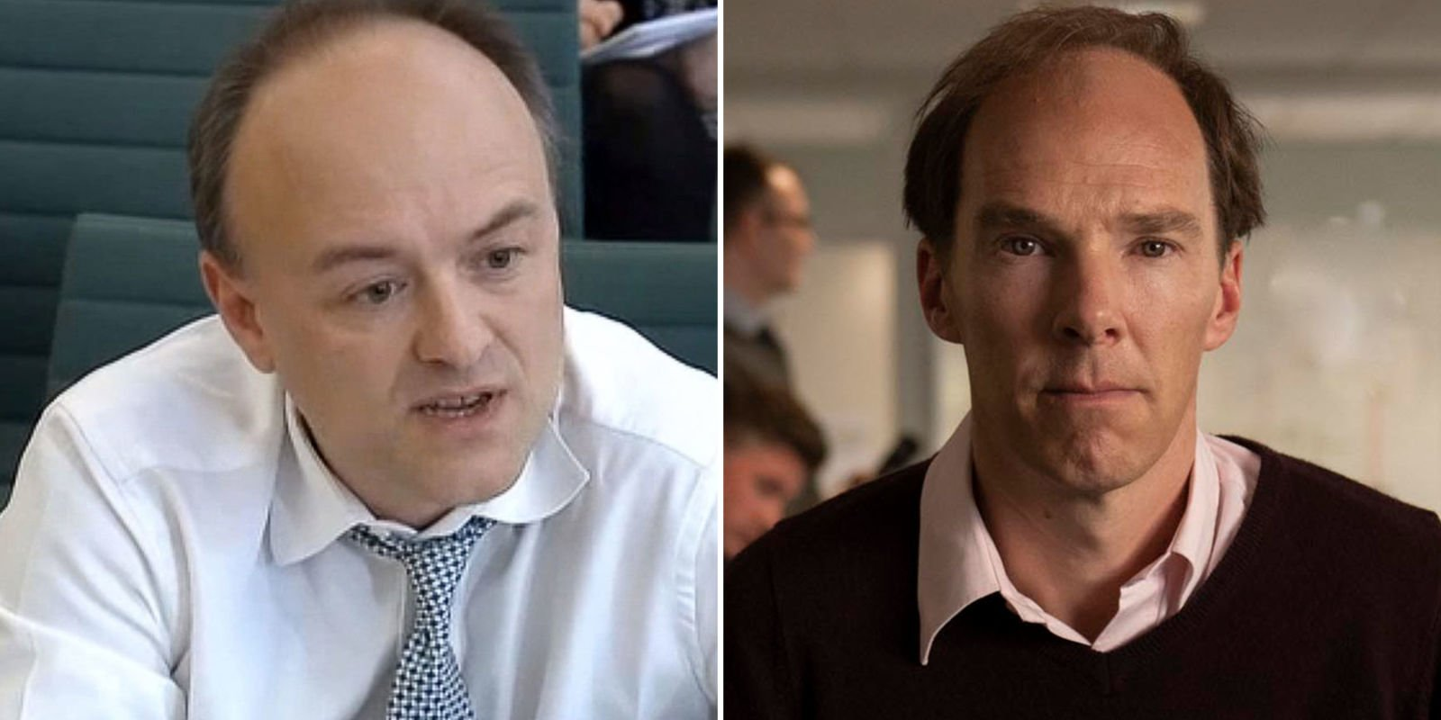 First look at a balding Benedict Cumberbatch in Channel 4 Brexit drama
