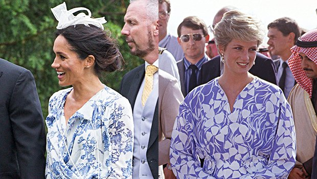 Did Meghan Markle Pay Homage To Late Princess Diana In Similar Dress? — See Loving Tribute
