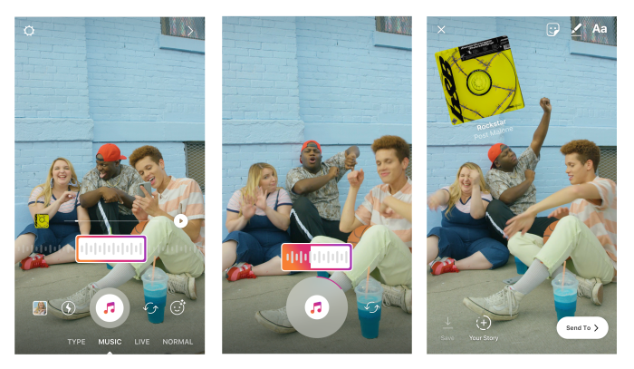 Instagram Stories, Now Twice as Big as Snapchat, Adds Music Integration