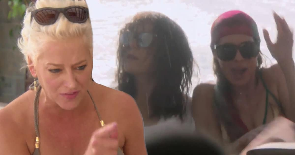 'Real Housewives of New York' Boat Ride from Hell, Brutal Vacation Fights Light Up Explosive Trailer