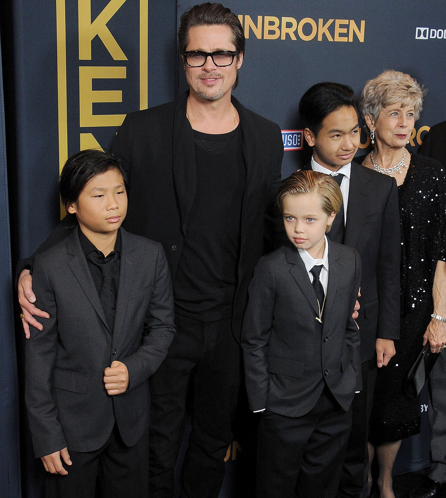Brad Pitt Spends Father's Day in London with His Kids Amid Custody Dispute