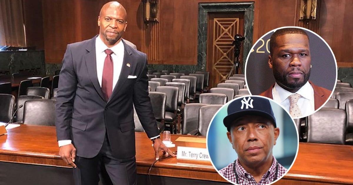 50 Cent, Russell Simmons MOCK Terry Crews as He Testifies to Senate on Behalf of Sexual Assault Survivors