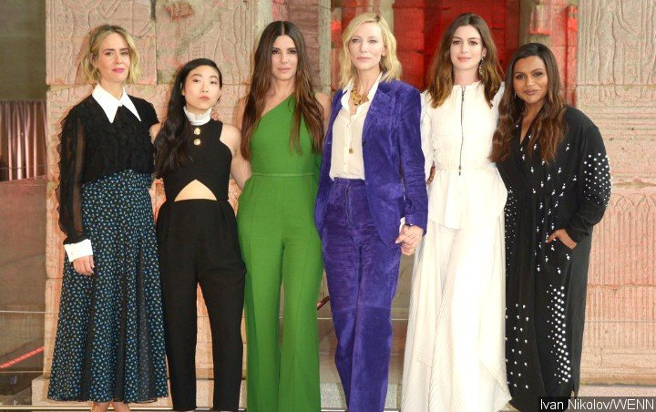 'Ocean's 8' Stars Compliment Anne Hathaway's Post-Baby Body