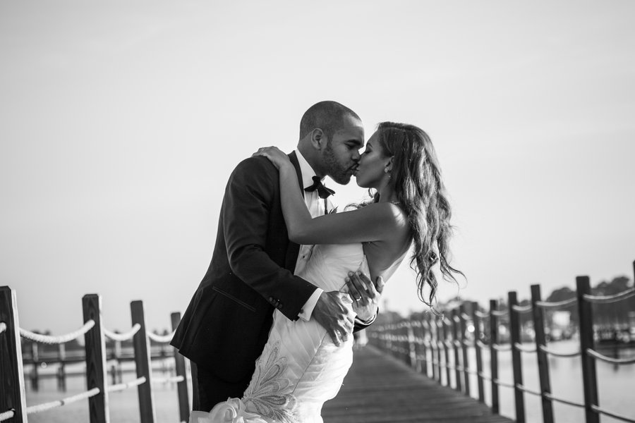 Bridal Bliss: Maurice and Angelina's Oceanfront Wedding Was Absolute Beach Chic