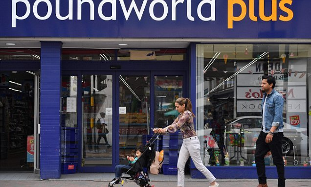 Poundworld announces it will close 80 stores with 1,000 job losses