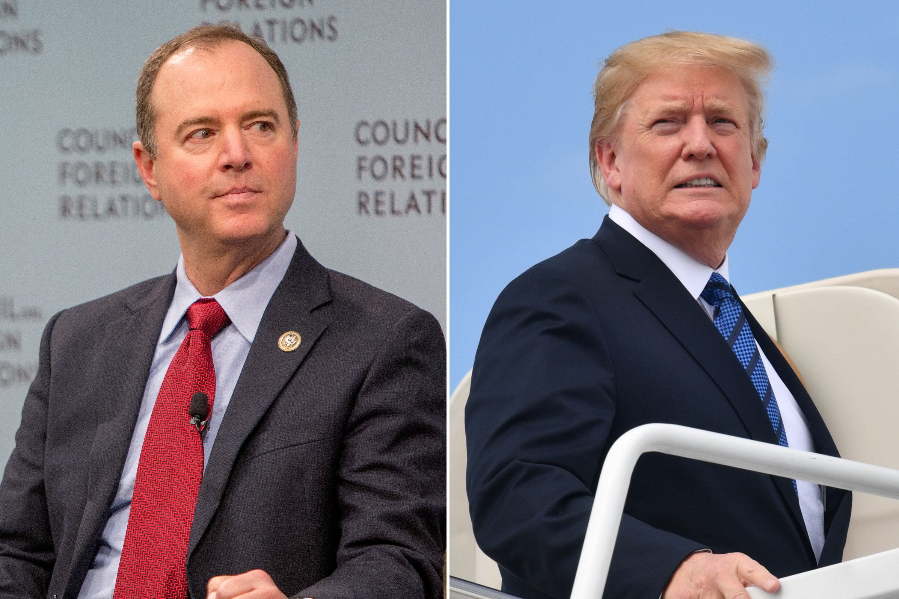 Schiff: Trump acts like someone 'compromised' by Putin