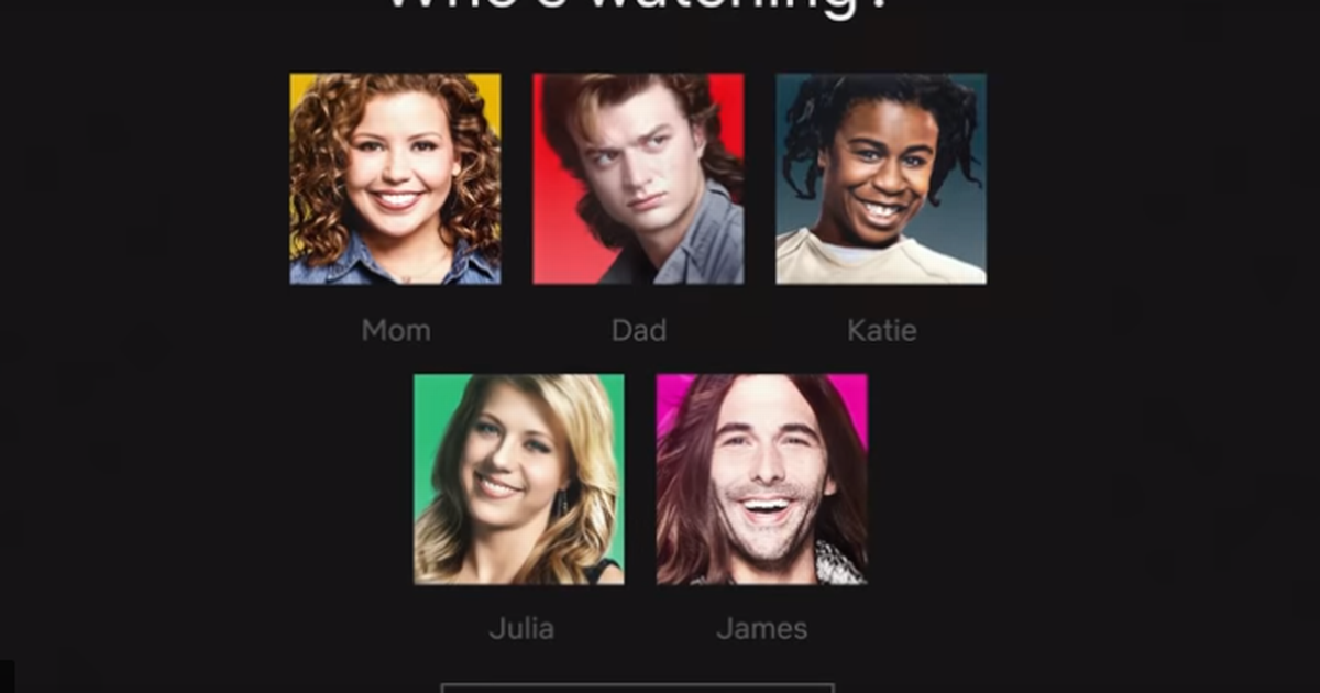 Netflix now lets you use your favourite TV character as your profile picture