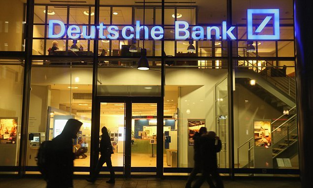 Deustche Bank moves half of its 'euro clearing' activity to Frankfurt