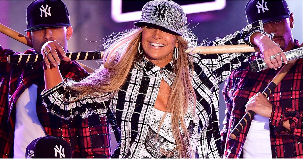 eaf32e5651a882 Paging Jennifer Lopez — Gucci Just Debuted a New York Yankees Collection!