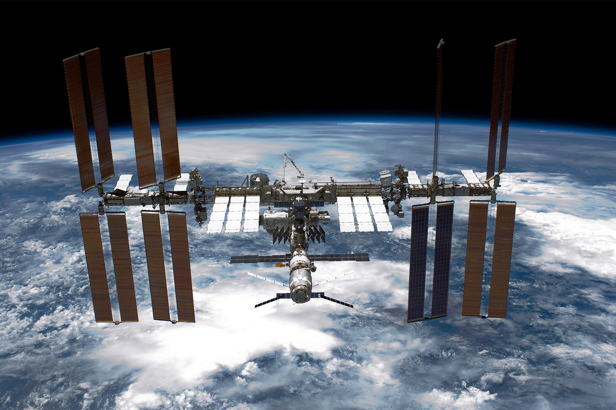 The International Space Station just spit out a baby satellite