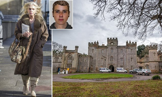 Police hunt rapist who attacked a woman at Lady Colin Campbell's home