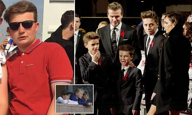 David Beckham's nephew is heartbroken after being drifting from family