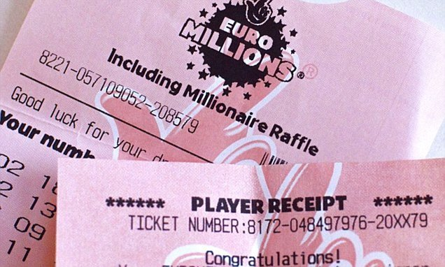 Lucky British ticket holder claims £57.9million EuroMillions jackpot
