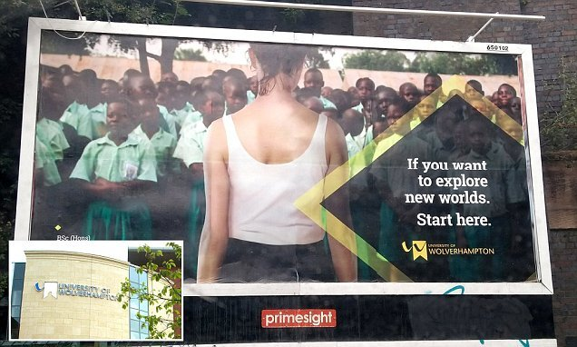 University apologises for 'racist and colonialist' posters