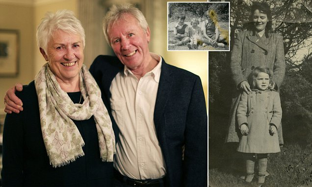 Emotional reunion for long-lost brother and sister 70 years on