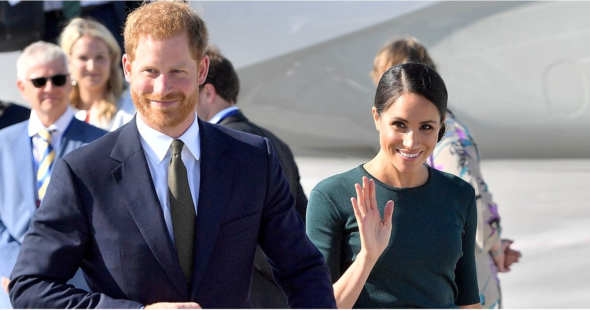 Meghan Markle Doesn't Need Any Luck When She's Wearing This Sophisticated Green Outfit