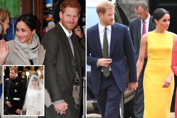 What Prince Harry and Meghan Markle's hand-holding style reveals about their sex life