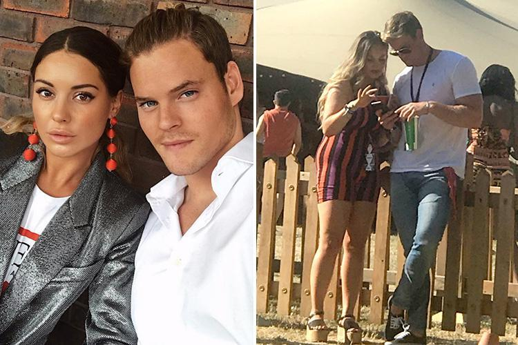 Made in Chelsea's Ryan Libbey spotted flirting and exchanging numbers with mystery woman behind Louise Thompson's back