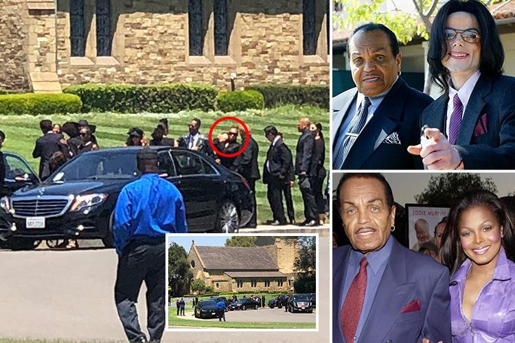 Joe Jackson buried at same cemetery as late son Michael as daughter Janet leads mourners