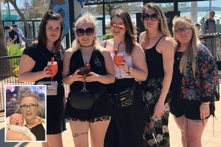 Woman sank fishbowls of cocktails, Malibu and prosecco every night on a boozy girls' trip to Majorca… unaware she was EIGHT MONTHS pregnant