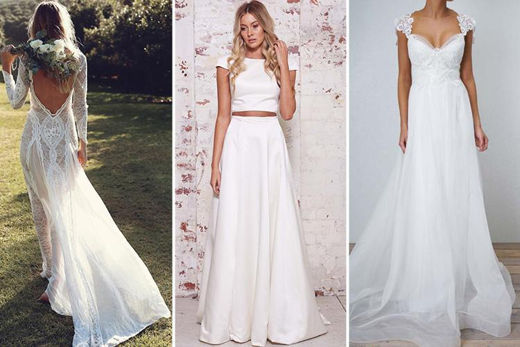 These are the seven most popular wedding dresses in the WORLD in 2018 so far