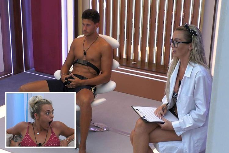 Love Island stars FINALLY discover the truth about Jack's kiss with Georgia in brutal lie detector test – but he's LYING about romance with Laura