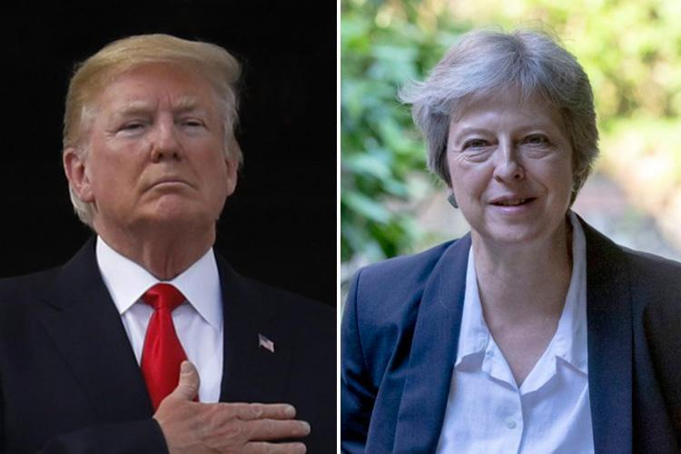Donald Trump pays tribute to 'friend' Boris Johnson after the Foreign Secretary quits over Brexit… but he doesn't back Theresa May
